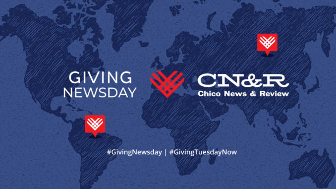 CN&R and Giving Newsday